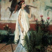 Alma-tadema A Greek Woman