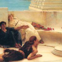 Alma-tadema A Reading From Homer