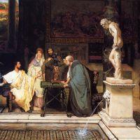 Alma-tadema A Roman Art Lover2