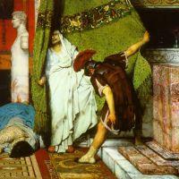 Alma-tadema A Roman Emperor Ad41 Detail1