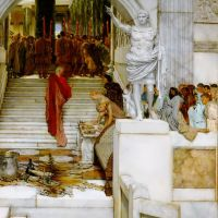 Alma-tadema After The Audience
