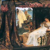 Alma-tadema Antony And Cleopatra