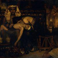 Alma-tadema Death Of The Pharaoh Firstborn Son