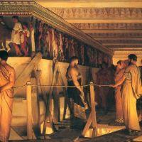 Alma-tadema Phidias Showing The Frieze Of The Parthenon