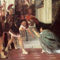 Alma-tadema Proclaiming Claudius Emperor