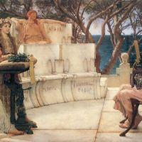 Alma-tadema Sappho And Alcaeus