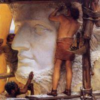Alma-tadema Sculptors In Ancient Rome