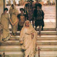 Alma-tadema The Triumph Of Titus