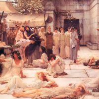 Alma-tadema The Women Of Amphissa