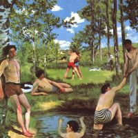 Bazille Frederic Bathers