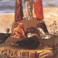 Bellini Giovanni Transfiguration Of Christ