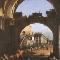 Belloto Bernardo Capriccio Mit Dem Kapitol