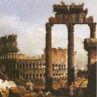 Belloto Bernardo Capriccio Mit Dem Kolosseum