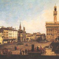 Belloto Bernardo Piazza Della Signora In Florence