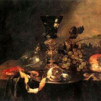 Beyeren Abraham Von Fruits Et Vaisselle Precieuse