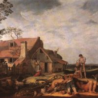 Bloemaert Abraham Landscape With Peasant Resting