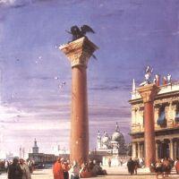 Bonington R P The Column St Mark In Venice