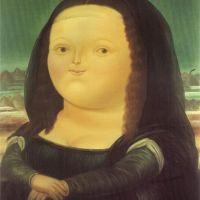 Botero Mona Lisa