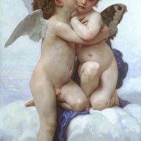 Bouguereau Amour Et Psyche Enfants