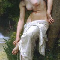 Bouguereau Apres Le Bain