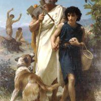Bouguereau Homere Et Son Guide