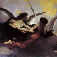 Bouguereau Soul Carried To Heaven