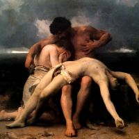 Bouguereau The First Mourning