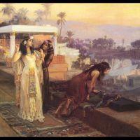 Bridgman Cleopatra On The Terraces Of Philae
