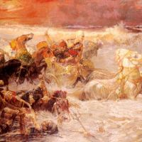 Bridgman Pharaoh Army Engulfed By The Red Sea