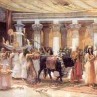 Bridgman The Procession Of The Sacred Bull Anubis