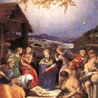 Bronzino Adoration Of Shepherds