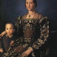 Bronzino Eleonora Of Toledo And Son
