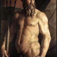 Bronzino Portrait Of Andrea Doria As Neptune