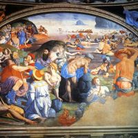 Bronzino The Crossing Of The Red Sea
