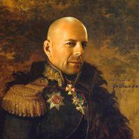 Bruce Willis George Dawe Style