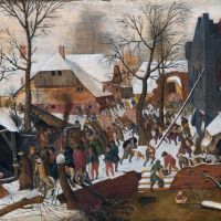 Bruegel Adoration Of The Kings In The Snow