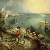Bruegel Landscape With The Fall Of Icarus