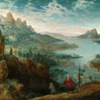 Bruegel Landscape With The Flight Into Egypt