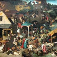 Bruegel Netherlandish Proverbs