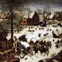 Bruegel The Census At Bethlehem