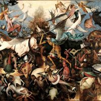 Bruegel The Fall Of The Rebel Angels