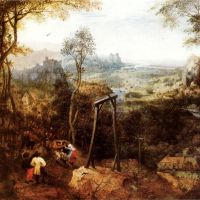 Bruegel The Magpie On The Gallows