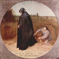 Bruegel The Misanthrope
