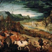 Bruegel The Return Of The Herd