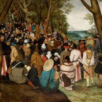 Bruegel The Sermon Of St. John The Baptist