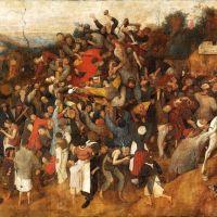 Bruegel The Wine Of Saint Martin S Day