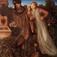 Burne-jones King Mark And La Belle Iseult