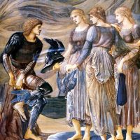 Burne-jones Perseus And The Sea Nymphs 1877