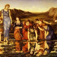Burne-jones Sir Edward The Mirror Of Venus