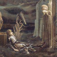 Burne-jones The Dream Of Launcelot At The Chapel Of The San Graal